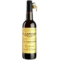 """Вино ликерное Вальдеспино """"Педро Хименес Эль Кандадо"""" (херес) 0,75л кр.17%"""