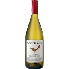 """Вино регион Калифорния """"Вудхэвен Шардоне"""" белое полусухое 12,5% 0,75"""