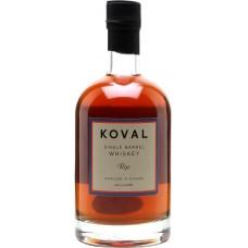 """Виски """"Коваль"""" ржаной органический 40% 0,5"""