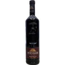 """Вино """"Мукузани"""" красное сухое 0,75л кр.10,5-13%"""