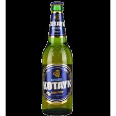 """Пиво """"Котайк"""" светлое пастер. фильтр. 0,5л кр.4,5%"""
