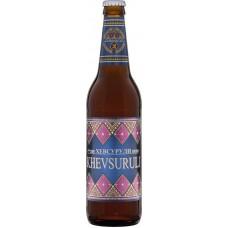 """Пиво """"Хевсурули"""" светлое пастеризованное 0,5л кр.4,9%"""