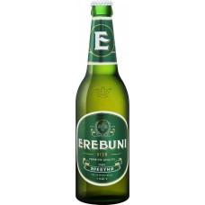 """Пиво """"Эребуни"""" светлое пастер. фильтр. 0,5л кр.4,8%"""