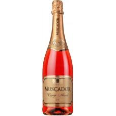 """Вино игристое """"Мускадор"""" розовое сладкое 11,5% 0,75"""
