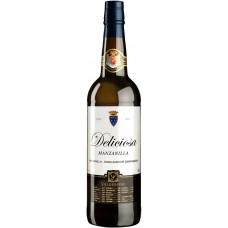 """Вино ликерное Вальдеспино """"Мансанийа Делисиоса"""" (херес) 0,75л кр.15%"""