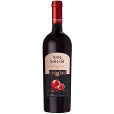 """Вино """"Нар"""" фруктовое гранатовое красное полусладкое 0,75л кр.10-13%"""