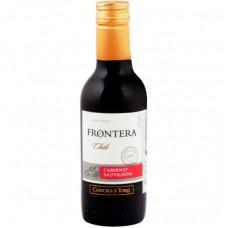 """Вино """"Фронтера Каберне Совиньон"""" 12%  красное полусухое 0,187"""