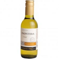 "Вино ""Фронтера Шардоне"" 12,5% белое полусухое 0,187"