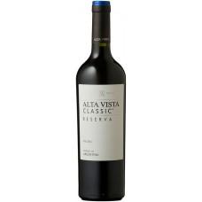 Вино Бодега Альта Виста Классик Мальбек красное сухое 0,75л кр.13%