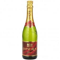 """Вино игристое """"Опера"""" Блан де Блан белое брют 0,75л кр.11%"""