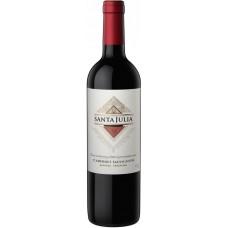 """Вино Санта Джулия """"Каберне Совиньон"""" красное сухое 0,75л кр.14%"""