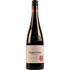 "Вино Симонсиг ""Каберне Совиньон-Шираз"" красное сухое 0,75л кр.13,5%"