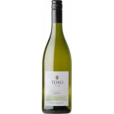 """Вино Тосо """"Шардоне"""" белое сухое 0,75л кр.13%"""