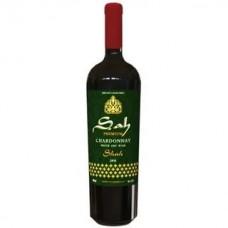 """Вино Шах Премиум """"Шардоне"""" столовое белое сухое 0,75л кр. 13,5%"""