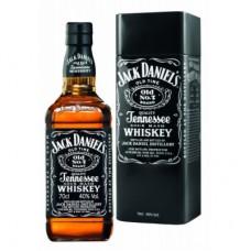 """Виски """"Джек Дэниел'с Теннесси"""" (мет. п/у) 0,7л кр.40%"""