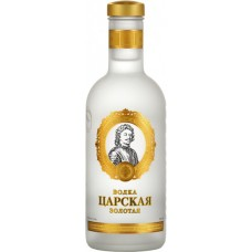 """Водка """"Царская золотая"""" 0,05л кр.40%"""
