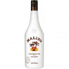 """Ликёр десертный """"Малибу"""" на основе карибского рома со вкусом кокоса 0,5л кр.21%"""