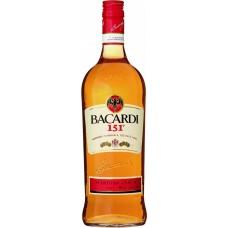 "Ром ""Бакарди"" 151, 0,75л кр.75,5%"