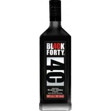 """Спиртной напиток """"Блэк Форти"""" 0,7л кр.40%"""