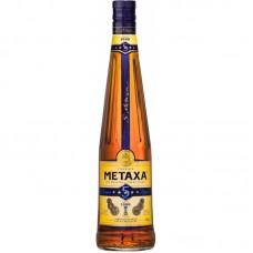 """Спиртной напиток """"Метакса 5*"""" 0,5л кр.38%"""