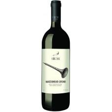 """Вино защищенного географического указания """"Македонское красное"""" красное полусухое 11% 1 л"""