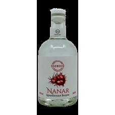 """Водка плодовая """"Нанар"""" Кизиловая 40% 0,5"""