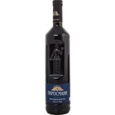"""Вино """"Пиросмани"""" красное полусухое 0,75л кр.10,5-13%"""