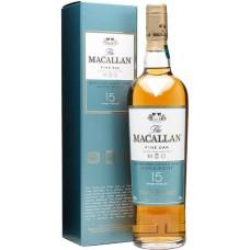 """Виски """"Макаллан Файн Ок"""" выдержка 15 лет П/У односолодовый 0,7л кр.43%"""