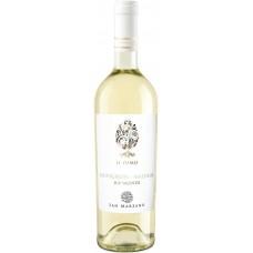 """Вино Сан Марцано """"Иль Пумо Совиньон Мальвазия"""" белое полусухое 0,75л кр.12%"""